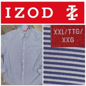 XXL Izod LS Button Down Dress Shirt